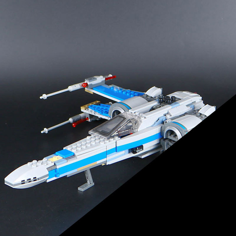 New 2017 LEPIN 05029 Star First Order Poe's X-Fighter wing building blocks X Star wing PLAN Toys For Children 75149 wars hot sale building blocks assembled star first wars order poe s x toys wing fighter compatible lepins educational toys diy gift
