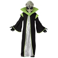 Child Deluxe All Powerful Leader Out Space Scary Alien Costume For Kids Let Him Spead Terror