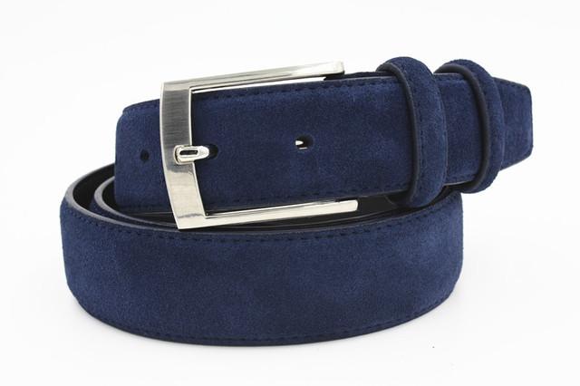 Nuevo Estilo de Moda Marca Welour Genuino Cinturón de Cuero Cinturón de Cuero Para Los Pantalones Vaqueros Para Los Hombres Mens Cinturones de Lujo Correas del Cinturón de Gamuza