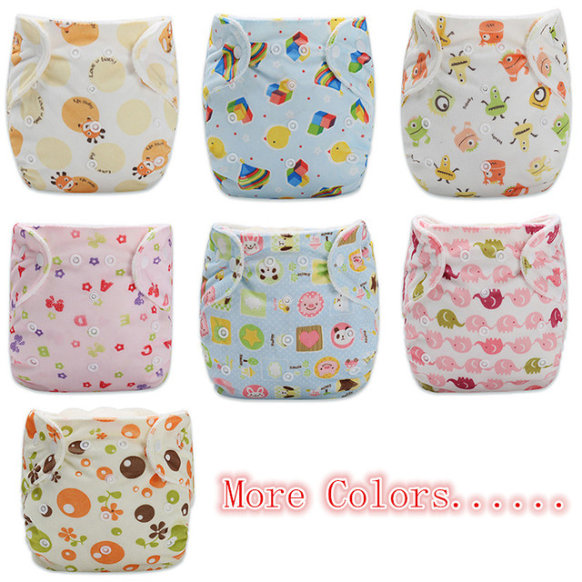 Baby Reusable Adjustable Diapers
