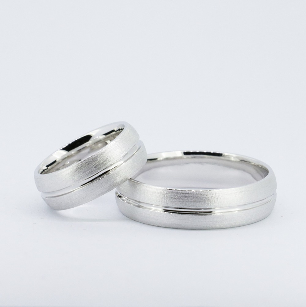 2pcset wedding bandssolid 925sterling silver bridegroom ringchina mainland - Grooms Wedding Ring