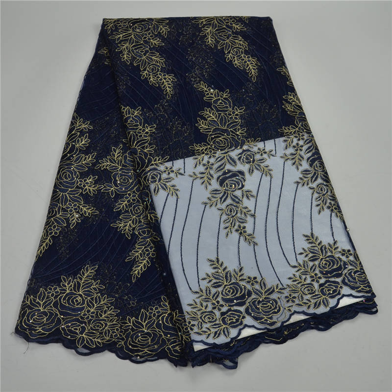 Black African Lace Fabric with Stones 2018 High Quality Lace with Embroidery and beaded Fabric Lace Fabric For garment Black African Lace Fabric with Stones 2018 High Quality Lace with Embroidery and beaded Fabric Lace Fabric For garment