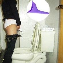 Mujeres Urinario Micción Embudo Viajes Acampar Al Aire Libre de Silicona Suave Dispositivo de Pie y Pee Urinario Inodoro Portátil Femenina(China (Mainland))