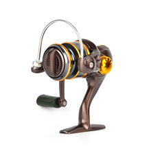 Fihing Wheel 500 Type 8+1 Bearing Wheel Soft Rubber grip Spinning  Rocker Ice Sea Fishing Reel Accessories with Good Quality