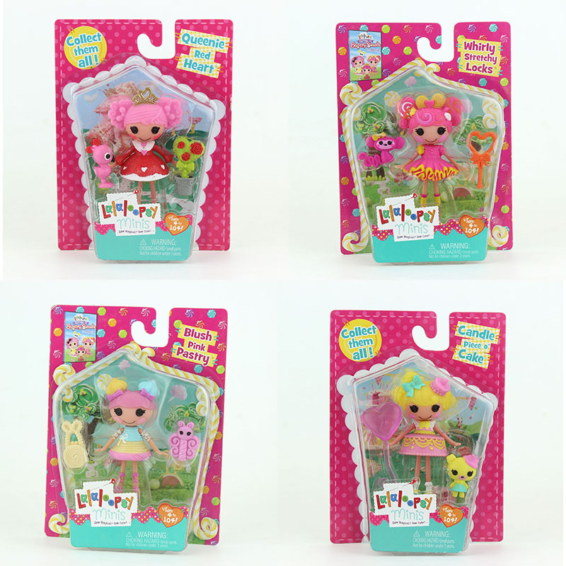 18Styles With Packaging 3Inch Original MGA Lalaloopsy Dolls With Accessories Toy Play