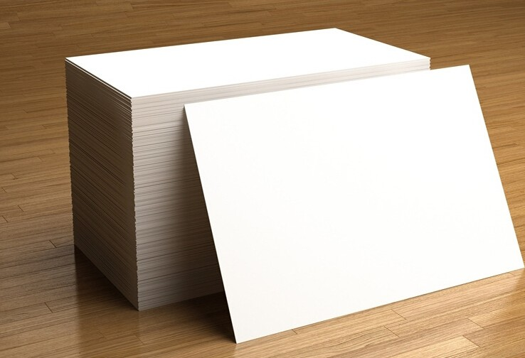 100*150mm Plain White Thick Cardstock Paper For Scrapbooking Papers Craft Card Making Postcard 10/50/100