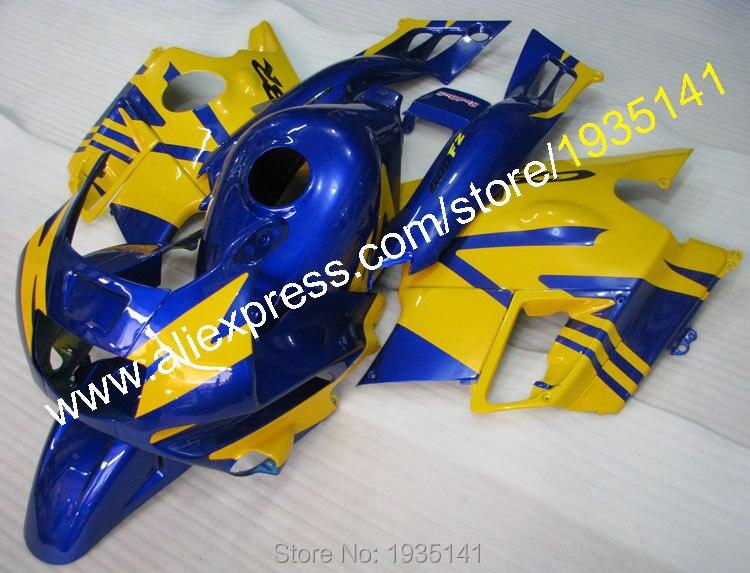 Hot Sales,For Honda CBR600F2 1991 1992 1993 1994 ABS Body Kit CBR 600 F2 91 92 93 94 CBR600 Yellow Blue Sportsbike Fairings Kit