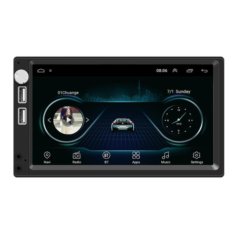 A5 7 Inch Android 8.1 Car Stereo MP5 Player GPS Navi FM Radio WiFi BT4.0(China)