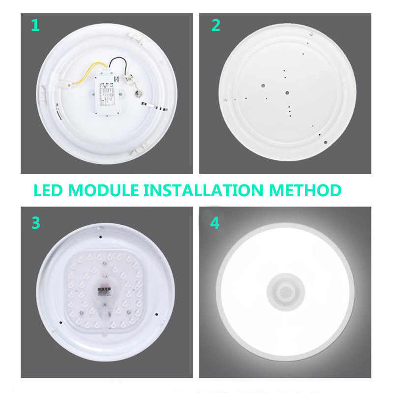 GLSZ LED Module for Ceiling Lamps AC220V 12W 18W 24W 36W LED Light Replace Ceiling Lamp Lighting Source for Living room Bedroom
