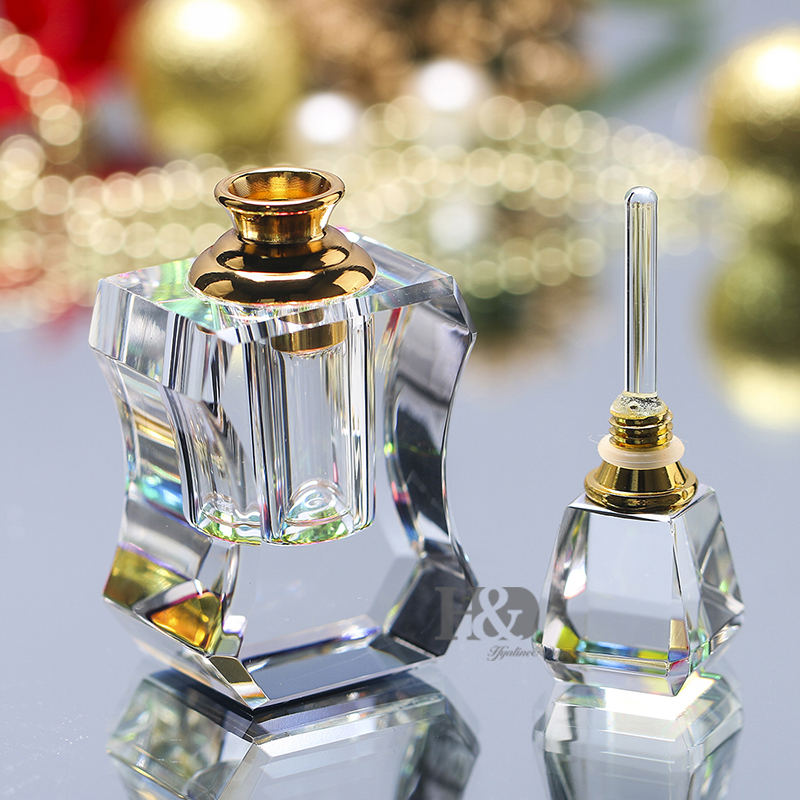 3ml Empty Crystal Vintage Perfume Bottle AntiquePerfume Container Glass Bottle Refillable Bottle Gift For Women empty death