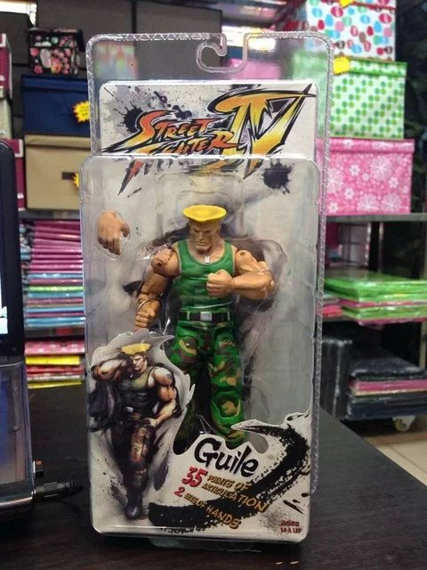 7 NECA Street Fighter IV Survival Model Ken Ryu Guile