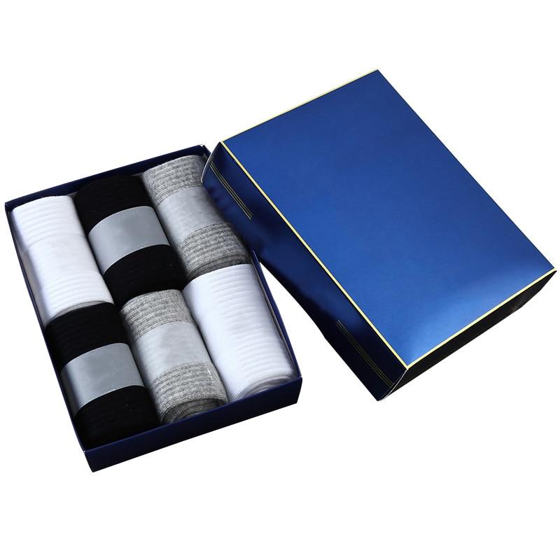 6 Pairs Good Quality Men Short Ankle Socks Deodorant Absorb Sweat Casual Fashion Male Socks Man Spring Autumn Cotton Sock Meias