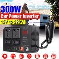 KROAK 300 Вт DC 12 В в AC 220 В 4 USB автомобильный инвертор зарядное устройство адаптер конвертер DC 12 В AC 220 модифицированный синусоидальный волновой т...