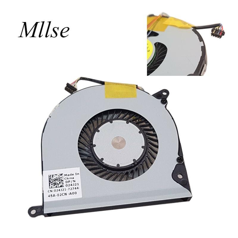 Original Cpu Fan For Dell Venue 11 Pro 7130 11 Pro 7139 T07G Laptop CPU Cooling Fan Cooler 024J21 24J21 DFS150405000T FFP5