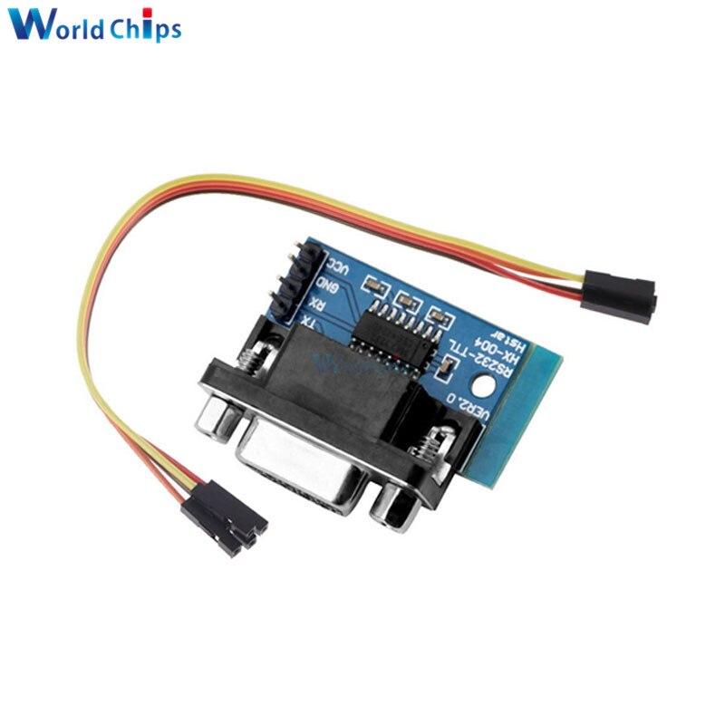 5PCS RS232 To TTL Converter COM Serial Board MAX232CPE Transfer Chip atmega16