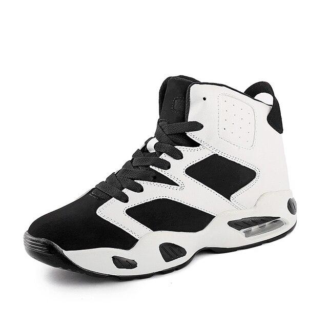 ... Size 36-44 Men Women Basketball Shoes High Top Quaity Men Sports  Sneakers Shoes Black ... cfed53dc6e
