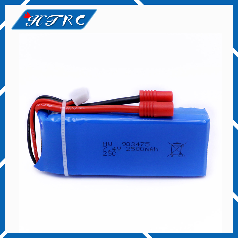 7.4 V 2500 mAh 25c RC Drone syma x8 x8c x8w x8g Quadcopter Parts Lipo extra Battery Spare Toys with Over current protection vho power syma x8w rc drone lipo battery 5pcs 2s 7 4v 2500mah and eu charger for syma x8c x8w x8g x8hg rc helicopter spare parts