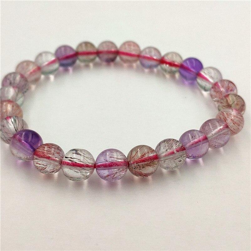 Natural Super 7 Melody Quartz Bracelet (8)
