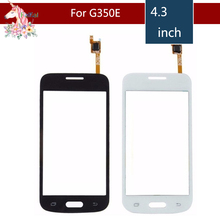 10pcs/lot For Samsung Galaxy DUOS star advance G350E SM-G350E Touch Screen Digitizer Sensor Outer Glass Lens Panel Replacement цена