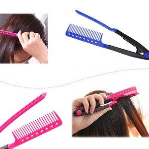 Fashion V Type Hair Comb Hair
