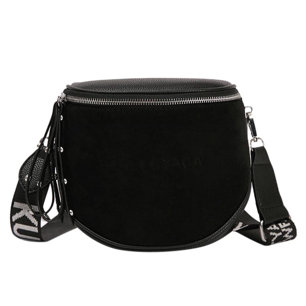 Maison Fabre Women's  PU Leather Rivet Soild Messenger Bag Ladies Leisure Simple Pure Color Single Shoulder Trendy Crossbody Bag