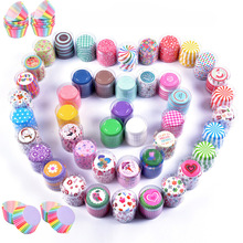 100PCS/Set Muffin Cupcake Paper Cups Cake Forms Cupcake Liner Baking Muffin Box Cup Case Party Tray Cake Mold Decorating Tools