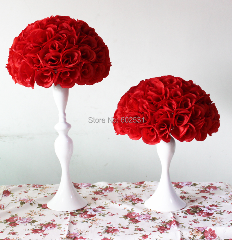 30cm red free shipping wedding pomanda kissing rose flower ball material artificial flower plastic center 2ze30cm 3cking12pcscarton 4rton size 605050cm 5lor red any color can do in your needs mightylinksfo