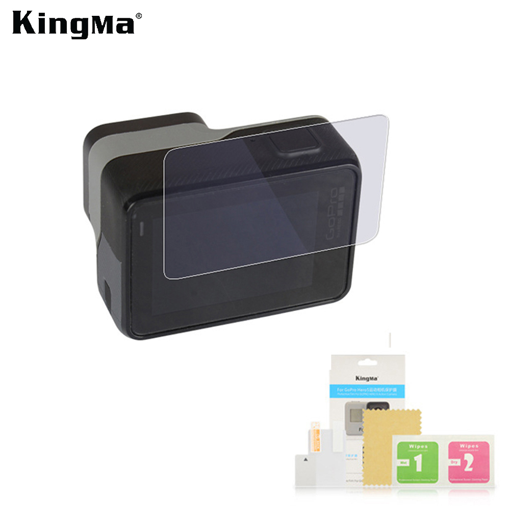 Kingma Screen Protective Film For GoPro Hero 5 Protect Camera Screen LCD Display For GoPro Hero 5 Black Action Came Accessories