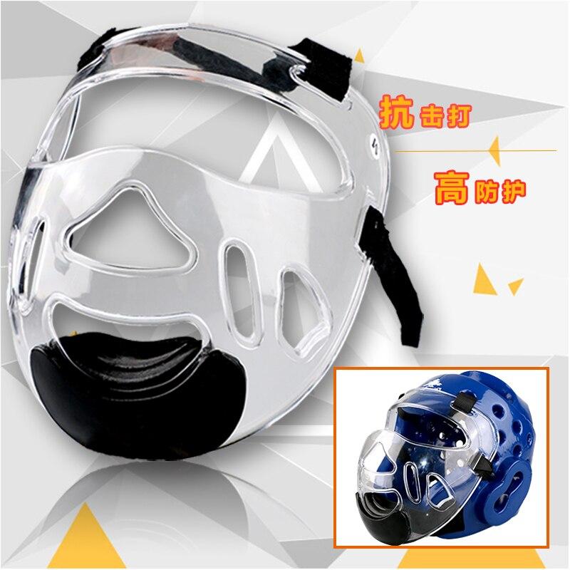 Новинка 2016 съемный шлем маска для тхэквондо карате маска протектор экологического материала для детей и взрослых Фитнес спортивные головн...