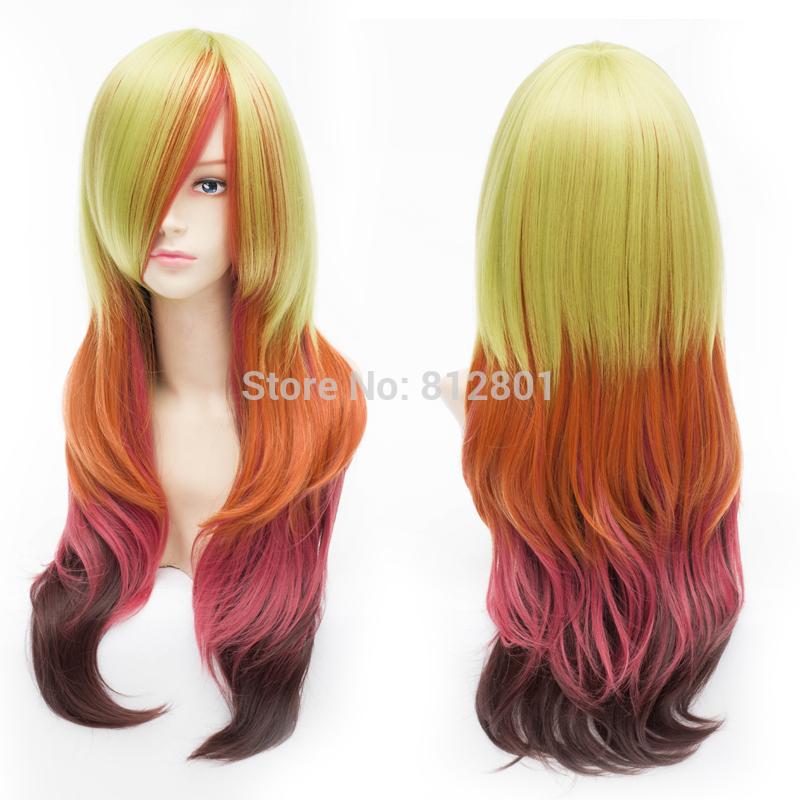 красивые секси леди парики сказка розовый косплей парики