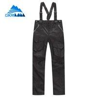 Cikrilan 2in1 Outdoor Sport Trekking Camping Windproof Ski Overalls Hiking Pants Women Waterproof Pantalones Senderismo Hombre