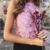 Elegante do laço das mulheres top colheita 2016 festa de verão preto branco curto sem encosto halter encabeça gola Alta ouro meninas tanque cami top