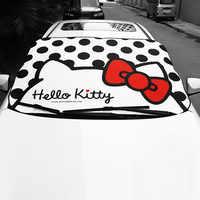 Pare-brise de voiture pare-soleil Kitty chat fenêtre avant pare-soleil isolation mignon pare-soleil Auto Protection solaire accessoires de voiture