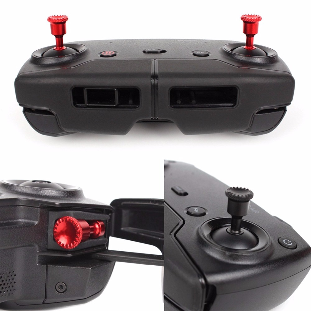2PCS Control Sticks Thumb Rocker Joystick For DJI Mavic Air Mavic 2 Pro Zoom Drone Remote Controller Transmitter Drone Accessory