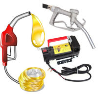 Ship From Germany 12V Lightweight Portable Fuel Diesel Oil Kerosene Transfer Pump 40L Min Fit