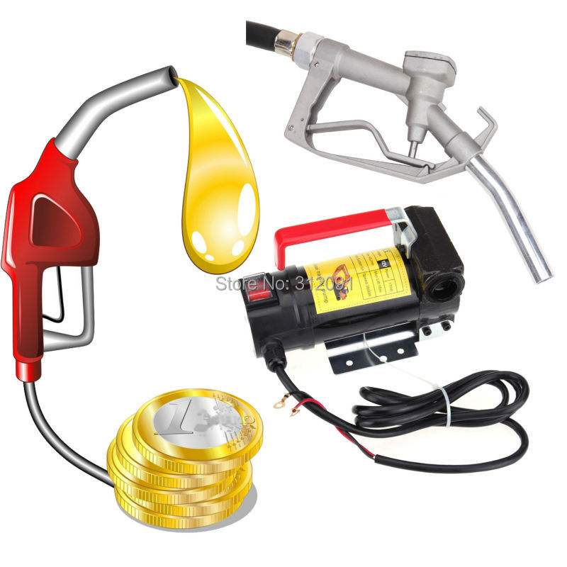 (Ship From Germany) Diesel Transfer <font><b>Pump</b></font> Kit 12V <font><b>fuel</b></font> supply device for field-working vehicles