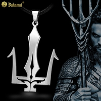 Poseidon Necklace Titanium Steel Necklace pendant stainless steel men jewelry gifts for boyfriend boys new year present lovers
