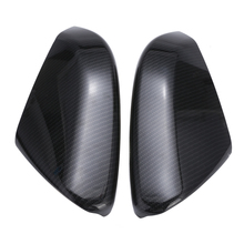 2pcs/set Side Rear View Mirror Cover Cap For Honda Civic 2016 2017 2018 Car Styling Trim Carbon Fiber Style