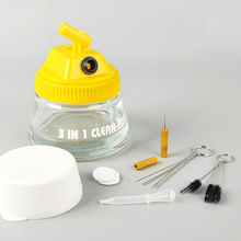 11pcs Airbrush Spray Gun Nozzle Cleaning Repair Tool Kit Nee