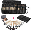 High Quality 15 Color Concealer Platte 24pcs Pro Makeup Cosmetic Brushes Sponge Puff