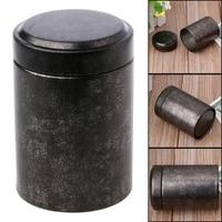 1Pc Mini Porable Tee Box Weißblech Reise Außen Vase Verschlossenen Dosen Geschenke 4 5x6 5 cm|Teedosen|   -