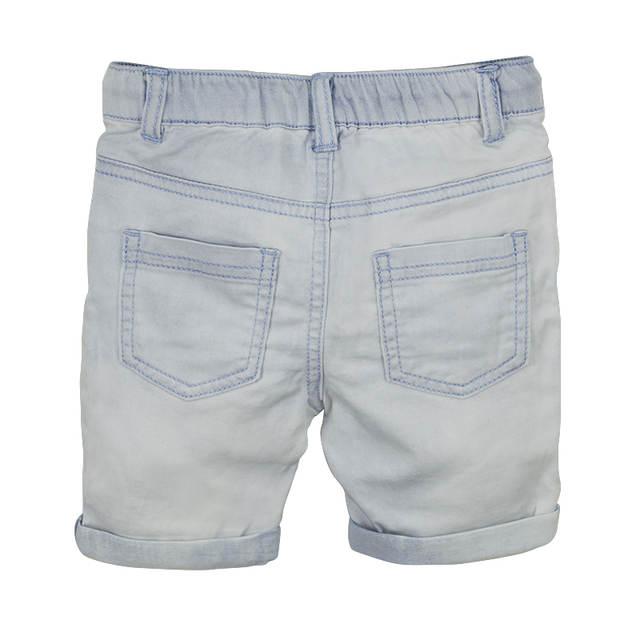 fbe72e9b1 Toddler Boy Denim Shorts Summer Baby Kids Light Color Short Pants Curling  Jeans Elastic Waist Pockets Children Clothing 2T 6T-in Shorts from Mother &  Kids ...