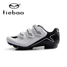 TIEBAO Men Cycling Shoes Mountain Bike Shoes Outdoor MTB Bike Shoes Professional Bicycle Shoes Cycles Sneakers Triathlon