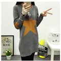 New Arrive Spring And Autumn Female Sweater south Korean Version Long-sleeved Big Yards Women's Long Sweater