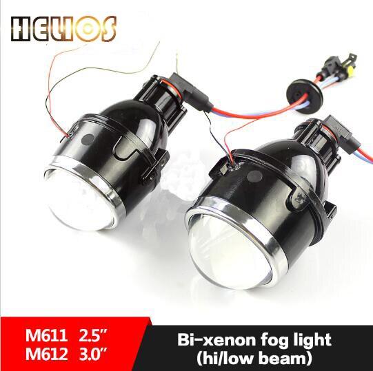 Bi xenon projector lens fog font b light b font lens H11 Hid Xenon Bulb Fog