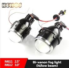 Bi lente del proyector del xenón lente de la luz de niebla Luz Antiniebla H11 Hid Xenon Bulb 35 W Universal Impermeable Súper Brillo Óptico Technolog