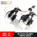 Lente Bi xenon lente do projetor de luz de nevoeiro H11 Hid Xenon Bulb Fog Lamp 35 W Universal À Prova D' Água Super Brilho Óptica Technolog