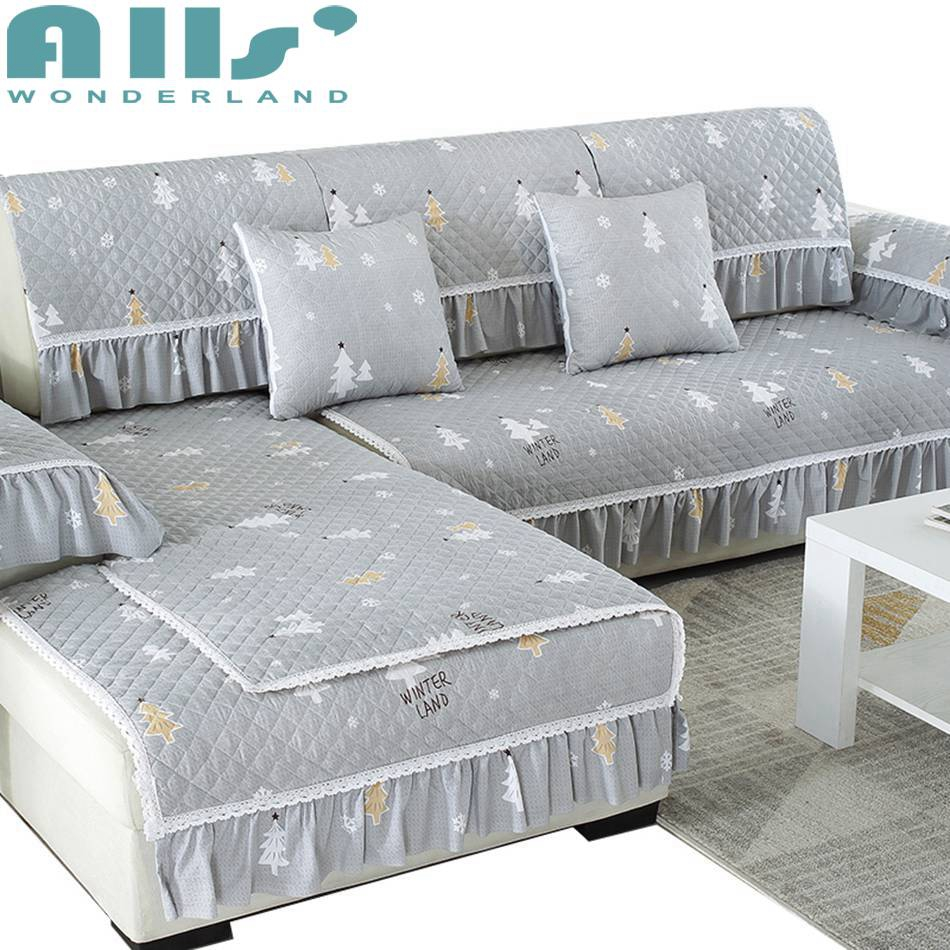 Sofa Hussen Gewaschener Baumwolle Dekorative Hussen Couch Abdeckung Für Wohnzimmer  Möbel Protector Europäischen Stil Moderne