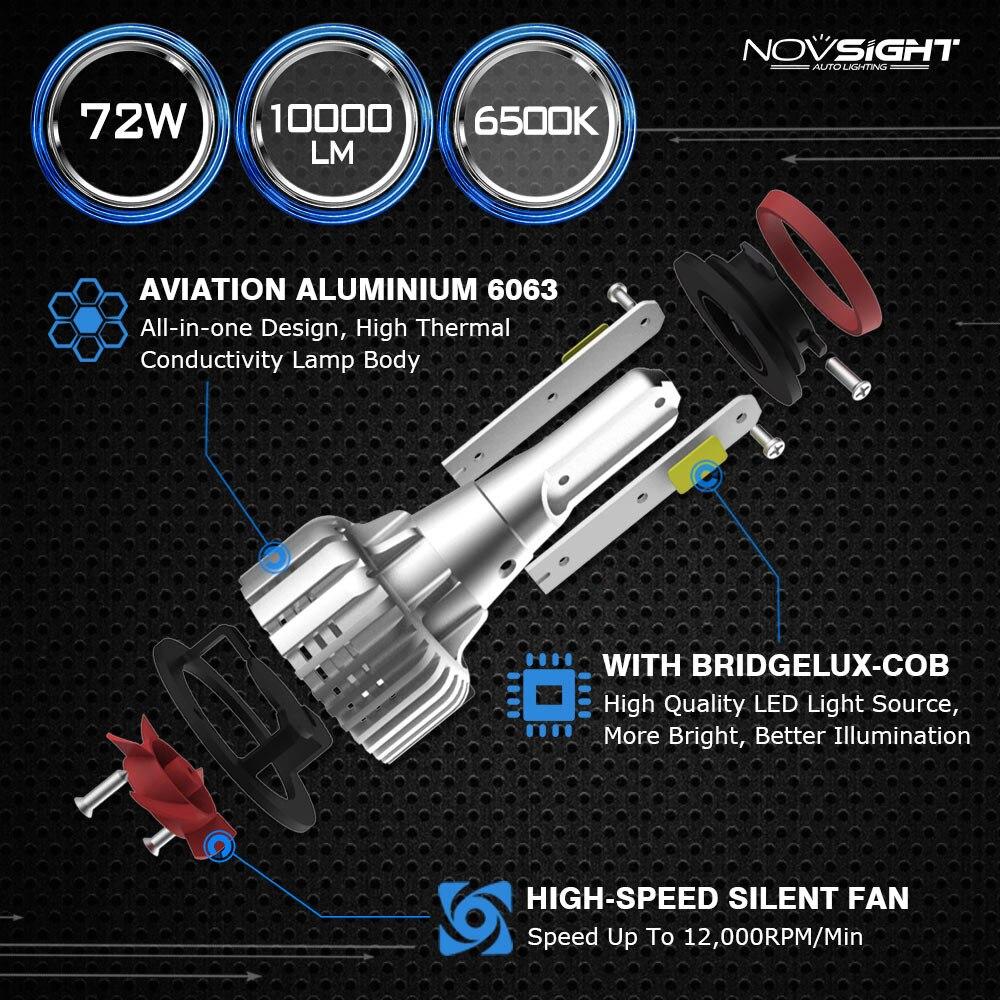 h4 led car bulb h7 led