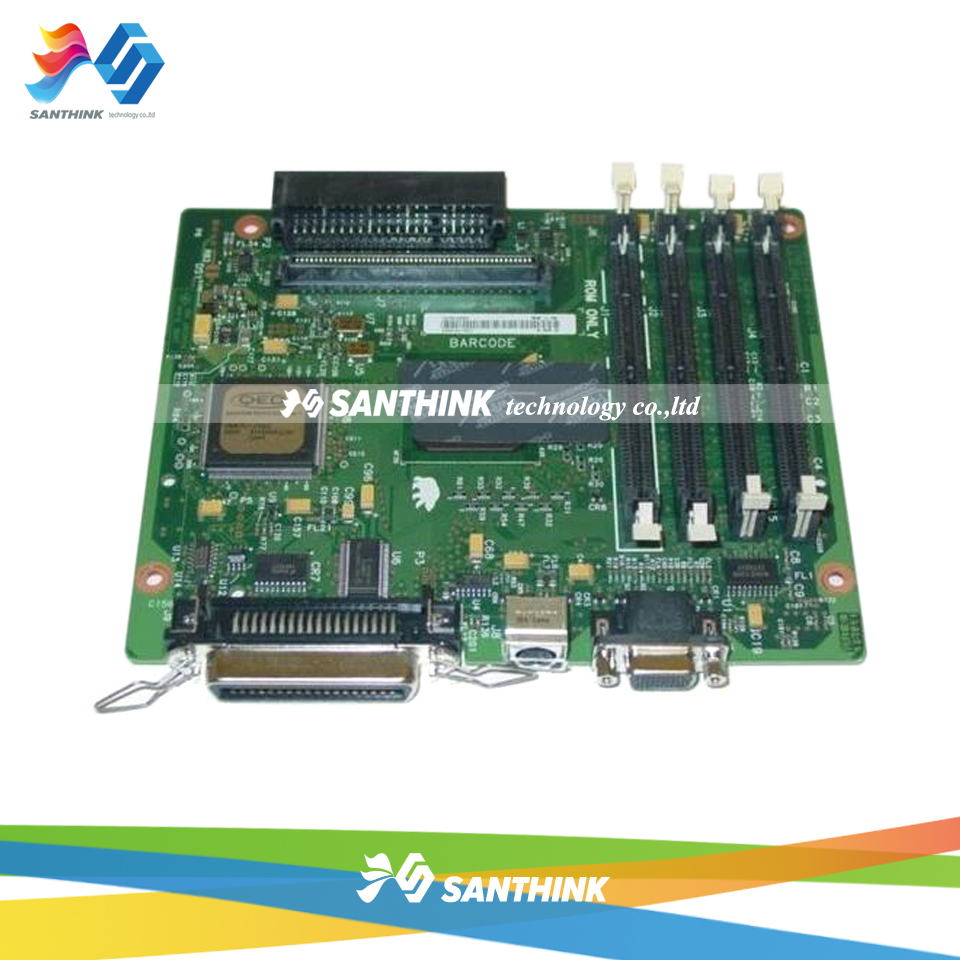 Original LaserJet Printer Main Board For HP 4100 4100MFP HP4100MFP HP4100 C4169-69001 Formatter Board Mainboard for hp 283 cf283a toner powder and chip for hp laserjet pro mfp m125 m127fn m127fw laser printer free shipping hot sale
